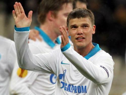 Игорь Денисов поаплодировал болельщикам своего бывшего клуба