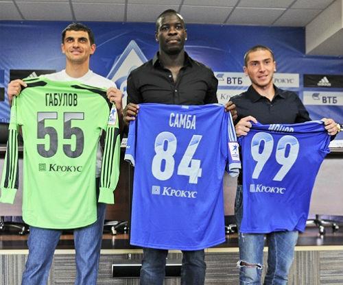 Габулов, Самба и Ионов официально в «Динамо»