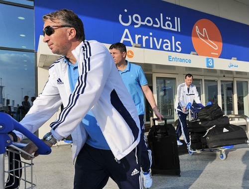 Динамо прибыло в ОАЭ