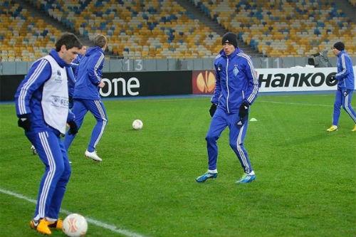 «Динамо» начало второй тренировочный сбор
