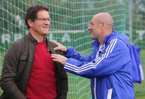 Капелло посетил тренировку «Динамо»