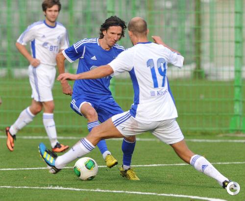 Администрация «Динамо» сыграла товарищеский матч с болельщиками